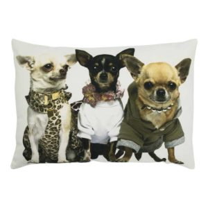 half kussen canvas hond chihuahuas