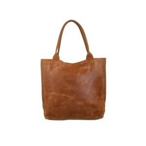 shopper leer cognac*